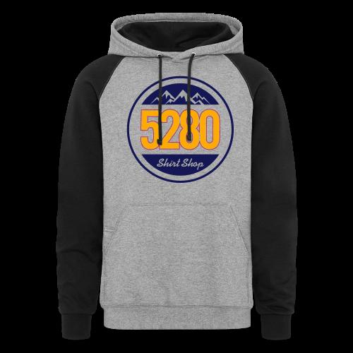 5280 Logo - Hoodie - Colorblock Hoodie