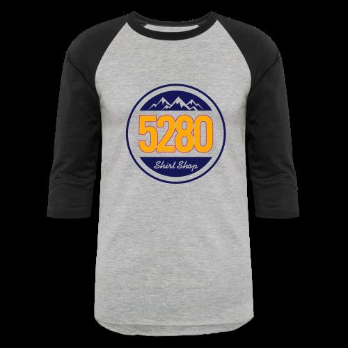 5280 Logo - Hoodie - Baseball T-Shirt