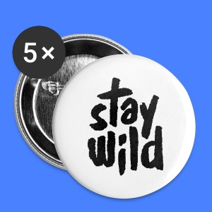 Stay Wild Phone & Tablet Cases - Small Buttons