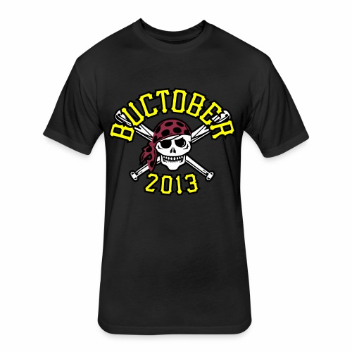 BUCTOBER - Fitted Cotton/Poly T-Shirt by Next Level
