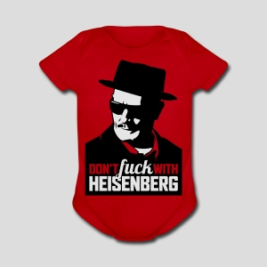 Breaking Bad: Don't fuck with Heisenberg 1 - Short Sleeve Baby Bodysuit