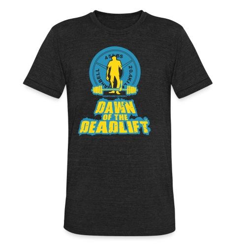 Dawn of The Deadlift Tee - Unisex Tri-Blend T-Shirt