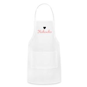 Noshember.com Heart Noshember - Adjustable Apron