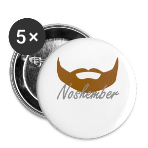 Bearded Hoodie - Noshember - Large Buttons