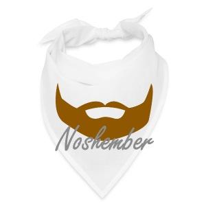 Bearded Hoodie - Noshember - Bandana