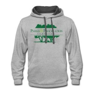 Parks and Procreation Services - Contrast Hoodie