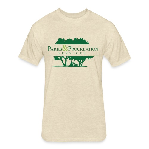 Parks and Procreation Services - Fitted Cotton/Poly T-Shirt by Next Level