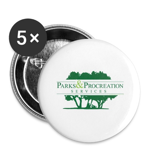 Parks and Procreation Services - Large Buttons