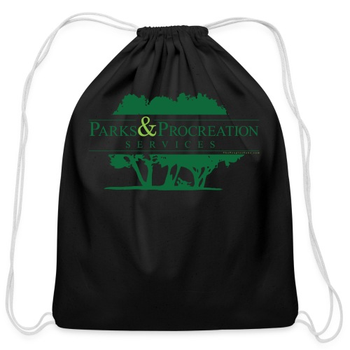 Parks and Procreation Services - Cotton Drawstring Bag