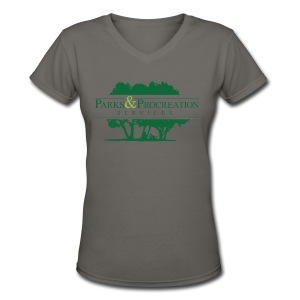 Parks and Procreation Services - Women's V-Neck T-Shirt