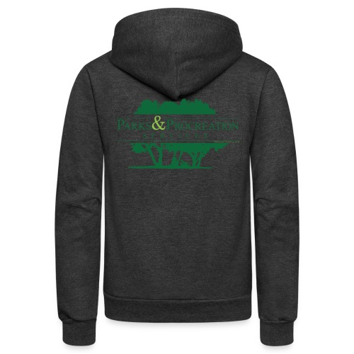 Parks and Procreation Services - Unisex Fleece Zip Hoodie