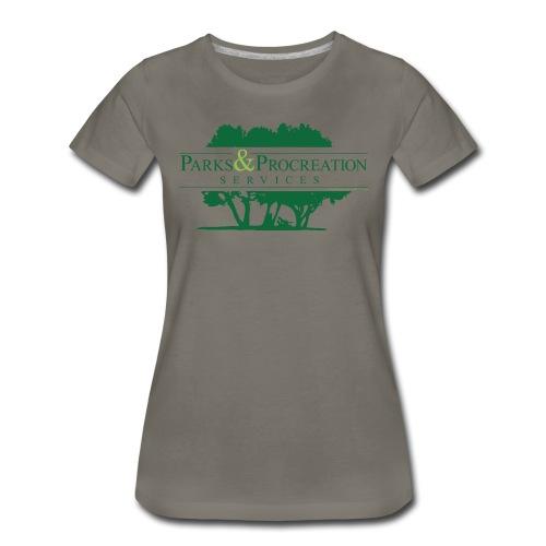 Parks and Procreation Services - Women's Premium T-Shirt