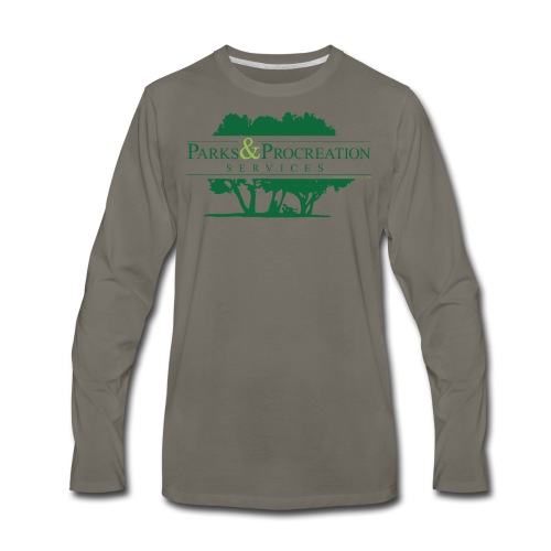 Parks and Procreation Services - Men's Premium Long Sleeve T-Shirt
