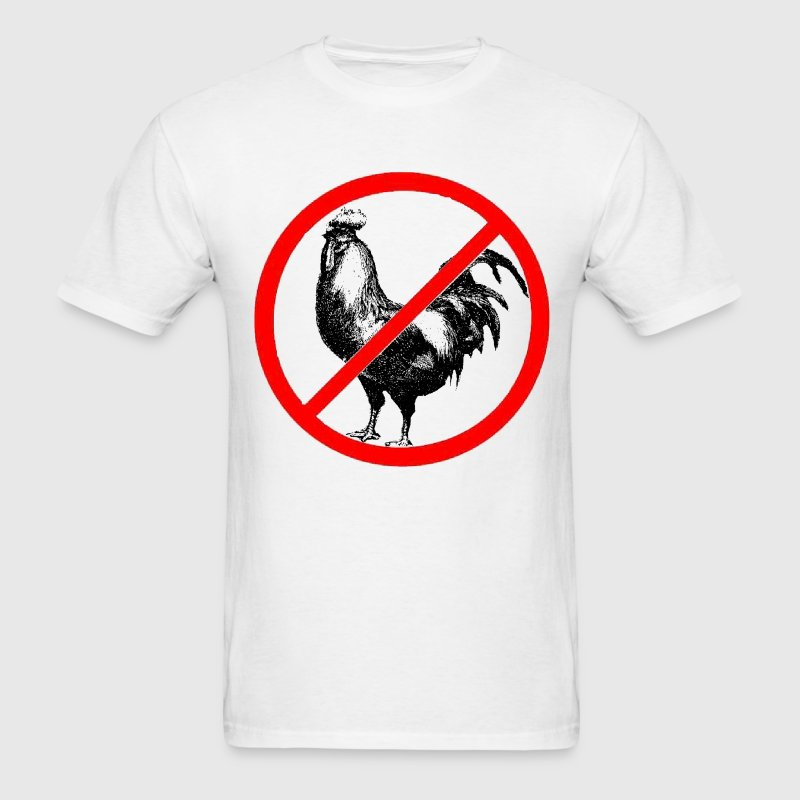 No Roosters?! - Men's T-Shirt