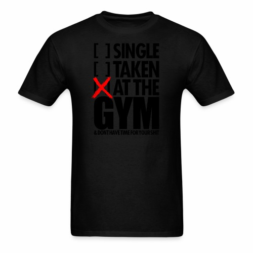 AT THE GYM - Men's T-Shirt