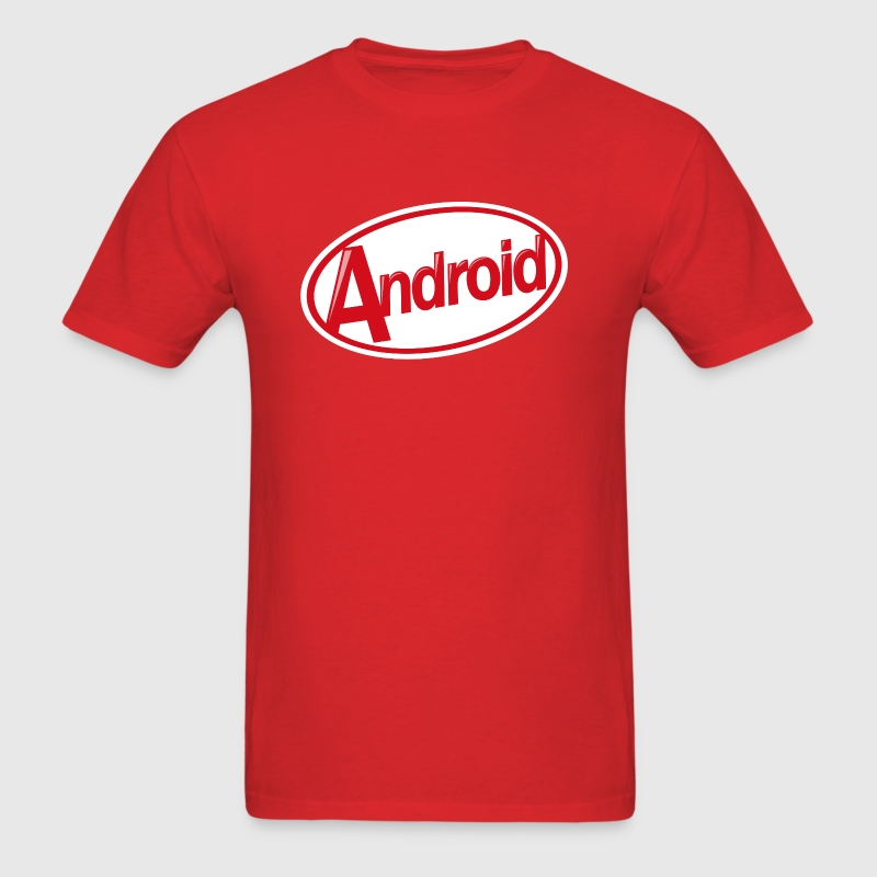 Android KitKat T/Standard - Men's T-Shirt