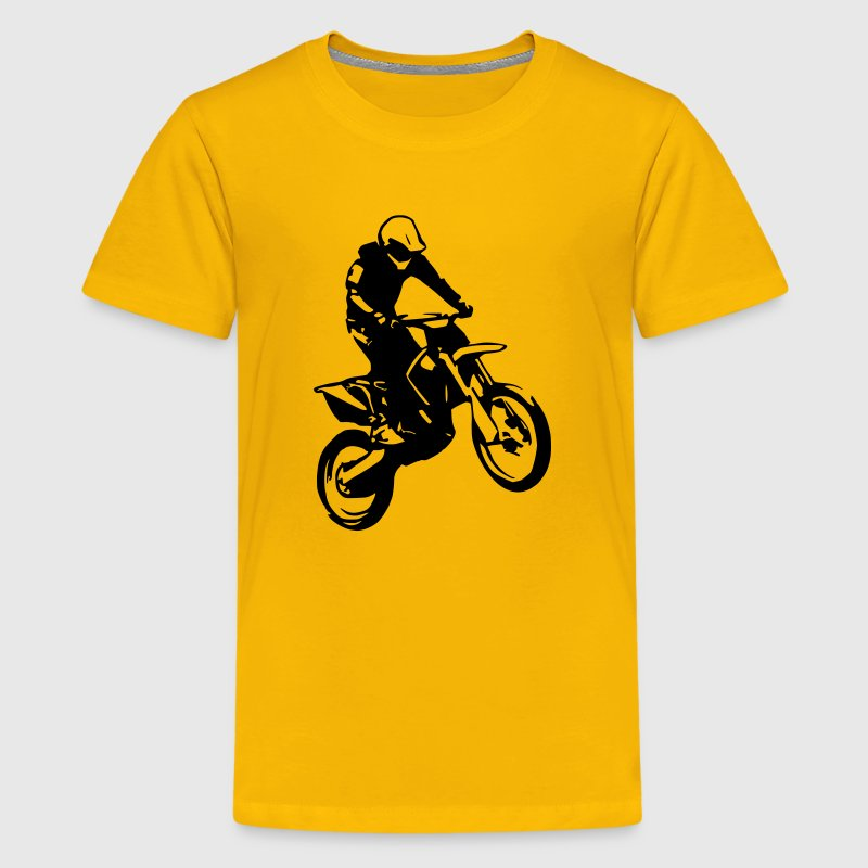 Motocross2 (1 color) Kids' Shirts - Kids' Premium T-Shirt