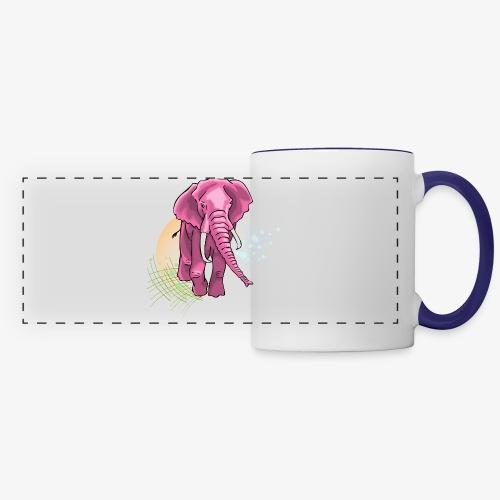 La vie en rose - Panoramic Mug