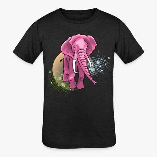 La vie en rose - Kid's Tri-Blend T-Shirt