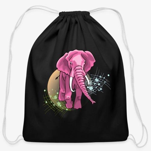 La vie en rose - Cotton Drawstring Bag
