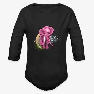 La vie en rose - Long Sleeve Baby Bodysuit