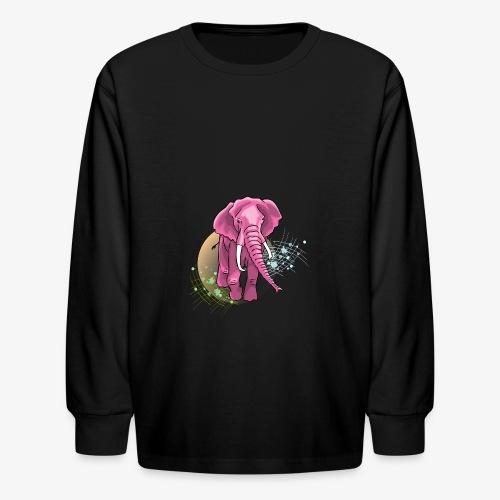 La vie en rose - Kids' Long Sleeve T-Shirt