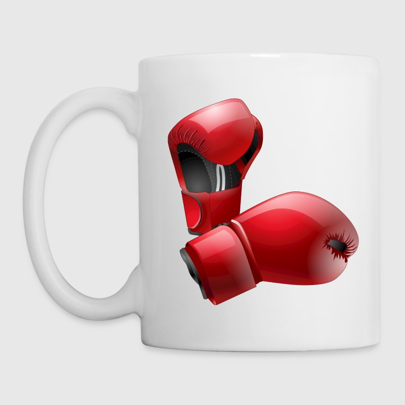 Boxing Gloves Bottles & Mugs - Coffee/Tea Mug