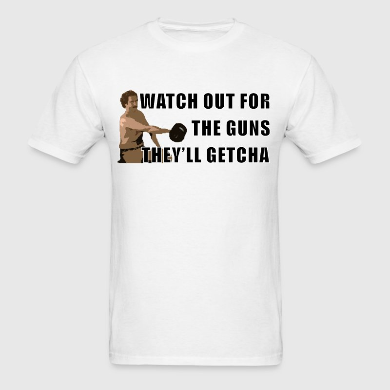 Anchorman Guns T-Shirts - Men's T-Shirt