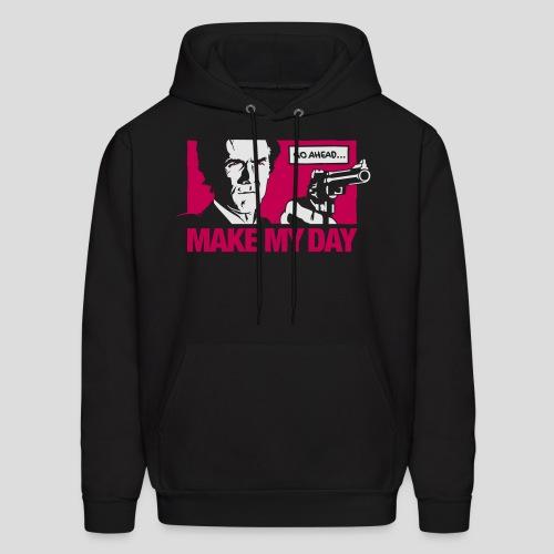 Dirty Harry: Make my day - Men's Hoodie