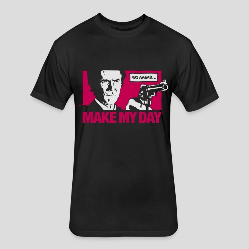Dirty Harry: Make my day - Fitted Cotton/Poly T-Shirt by Next Level