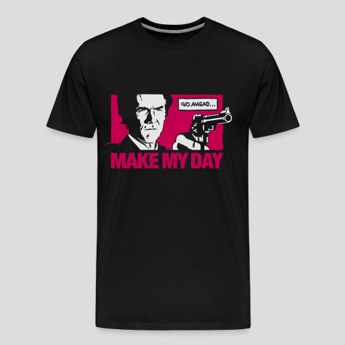 Dirty Harry: Make my day - Men's Premium T-Shirt