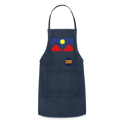 Denver Flag - Bronc - Hoodie - Adjustable Apron