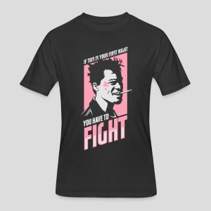Fight Club: You have to fight - Men's 50/50 T-Shirt