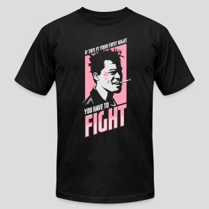 Fight Club: You have to fight - Men's Fine Jersey T-Shirt