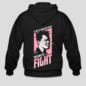 Fight Club: You have to fight - Men's Zip Hoodie