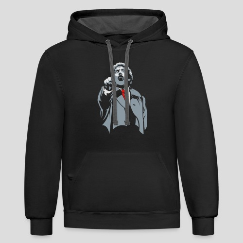 Invasion of the body snatchers - Contrast Hoodie
