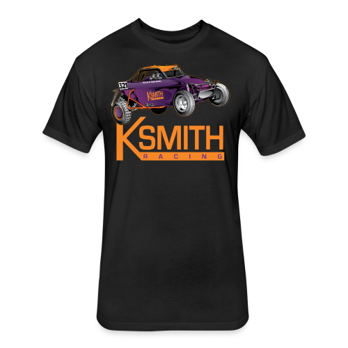 KSmith Racing Buggy - Fitted Cotton/Poly T-Shirt by Next Level