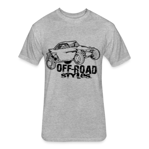 Off-Road Styles Buggy - Fitted Cotton/Poly T-Shirt by Next Level