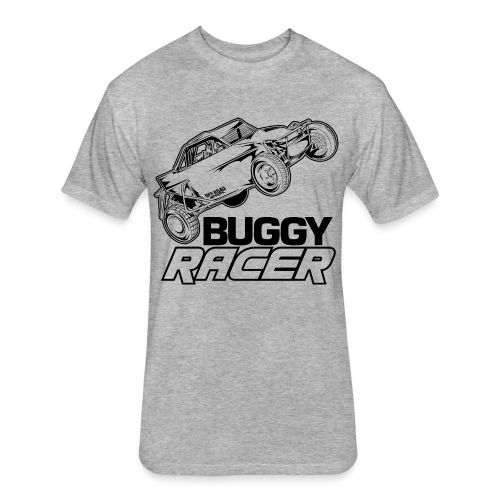 Off-Road Buggy Racer - Fitted Cotton/Poly T-Shirt by Next Level