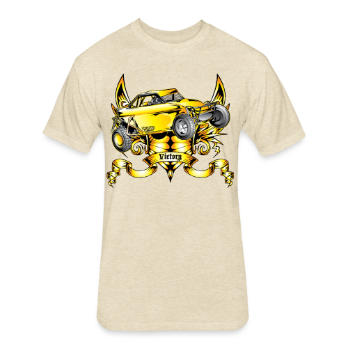 Off-Road Trophy Buggy - Fitted Cotton/Poly T-Shirt by Next Level
