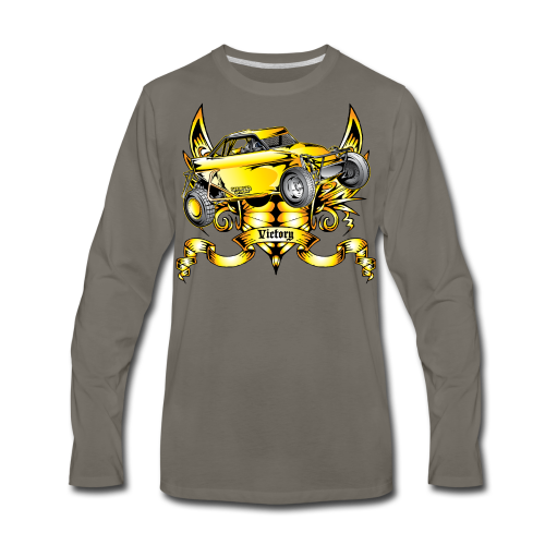 Off-Road Trophy Buggy - Men's Premium Long Sleeve T-Shirt
