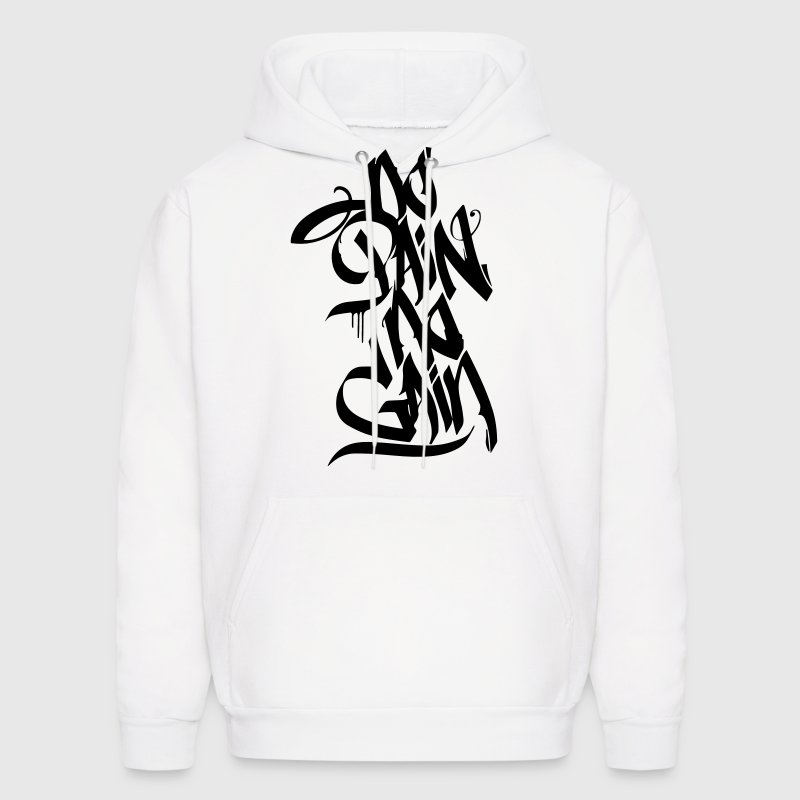 NO PAIN NO GAIN GRAFFITI Hoodies - Men's Hoodie
