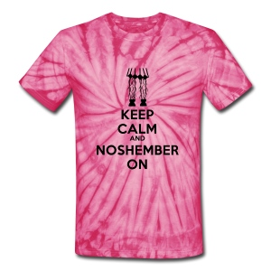 Chick's Keep Calm Shirt - womens - Unisex Tie Dye T-Shirt