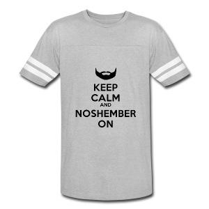 Noshember Dude's Hoodie - Keep Calm - Vintage Sport T-Shirt