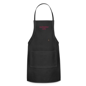 Noshember Wife Chick's Long-Sleeve - Adjustable Apron