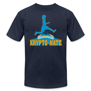 Krypto-Nate - Mens T-Shirt - Men's Fine Jersey T-Shirt