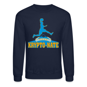 Krypto-Nate - Mens T-Shirt - Crewneck Sweatshirt