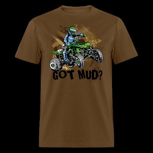 Kawasaki Quad Got Mud - Men's T-Shirt