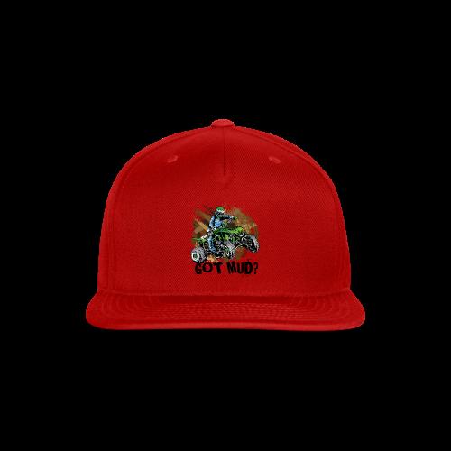 Kawasaki Quad Got Mud - Snap-back Baseball Cap