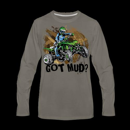 Kawasaki Quad Got Mud - Men's Premium Long Sleeve T-Shirt